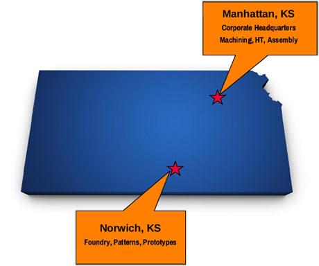 Farrar Locations Map