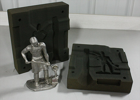 3D sand mold printing direct from CAD files